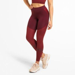 Better Bodies Chrystie Shiny Tights Maroon